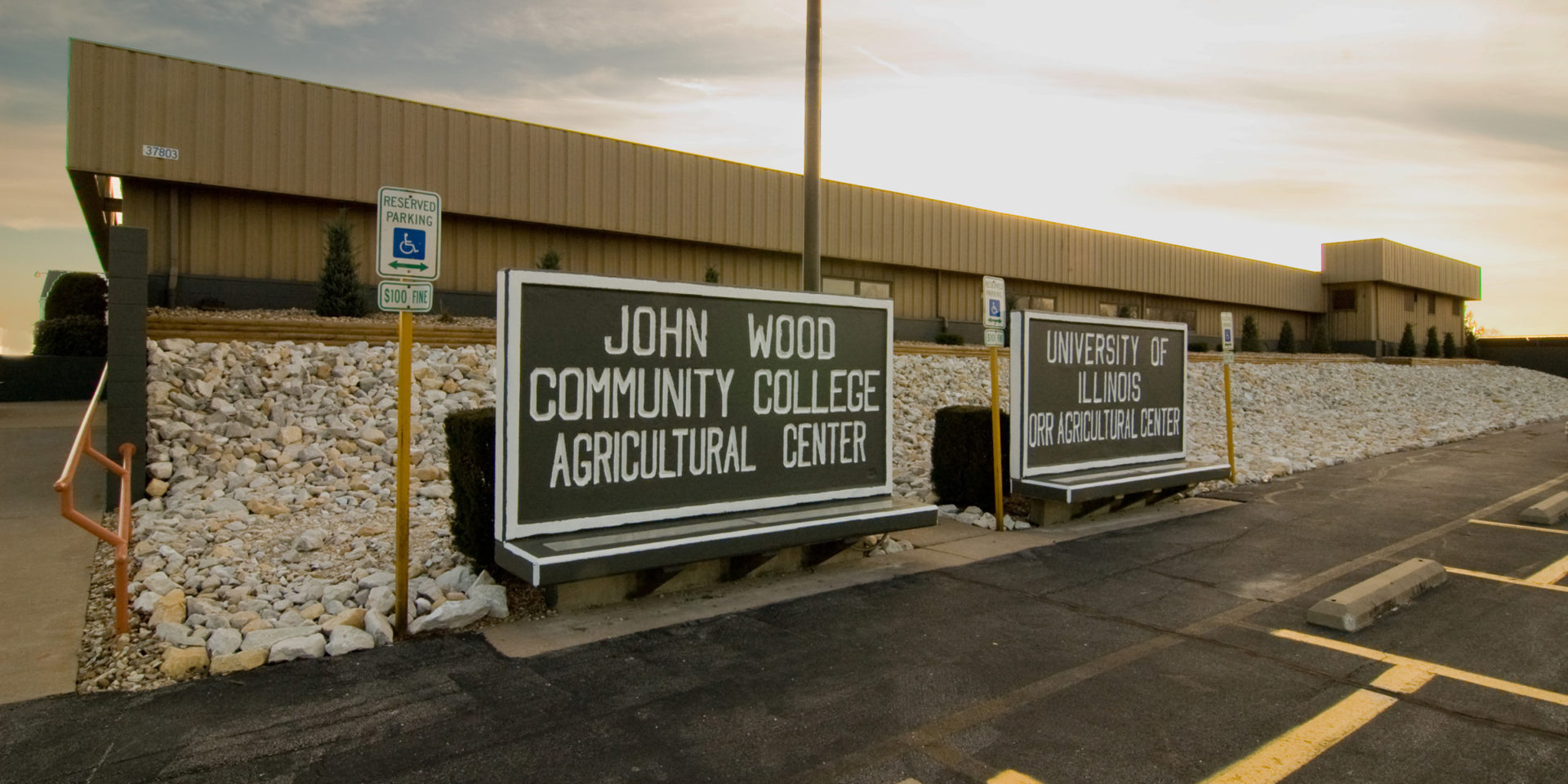 Front of JWCC Ag Center