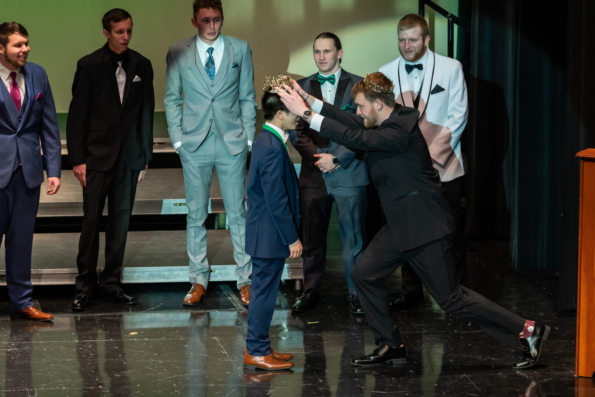 Freshman receives Mr. John Wood crown