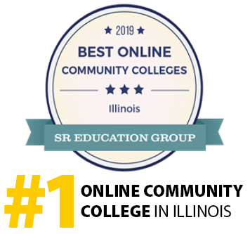#1 Online Community College in Illinois