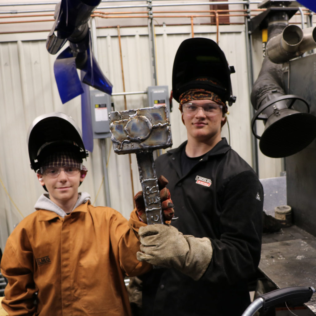 jdub students welding