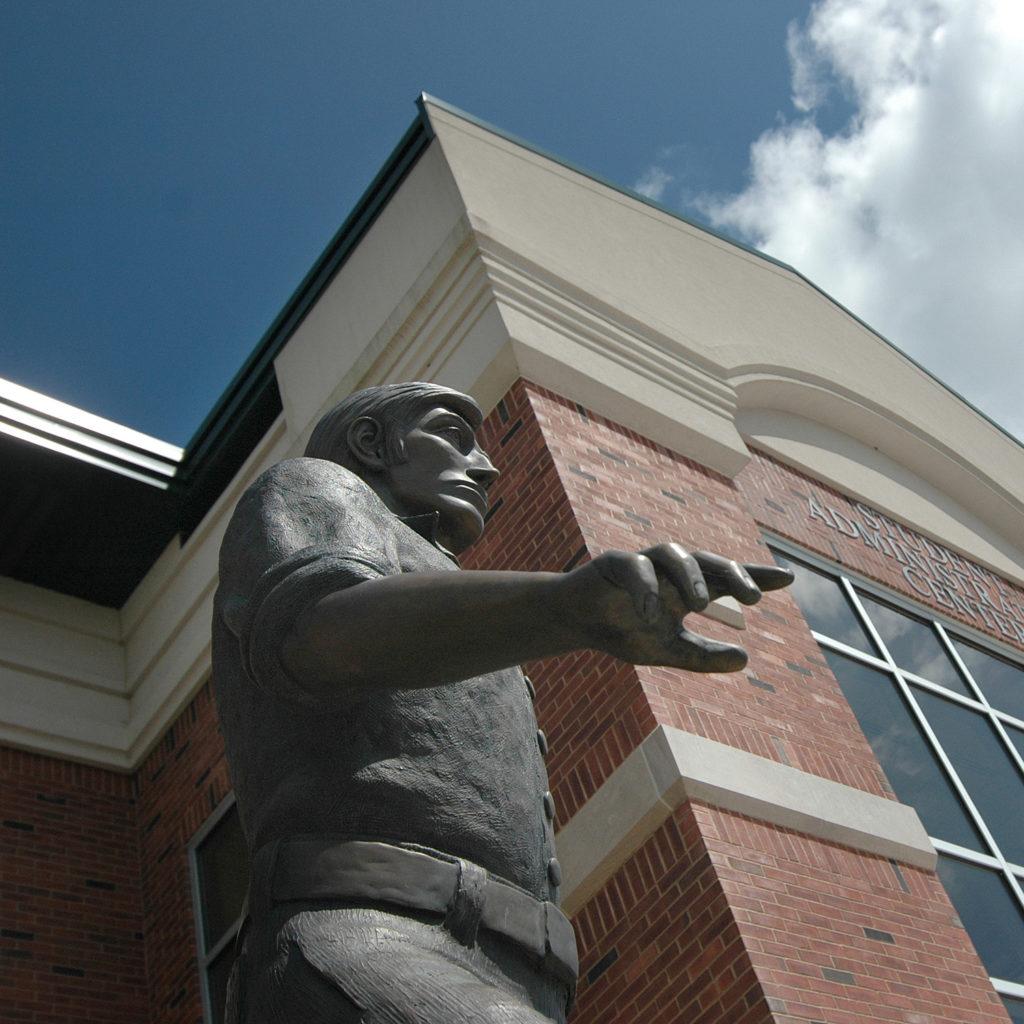 John Wood statue