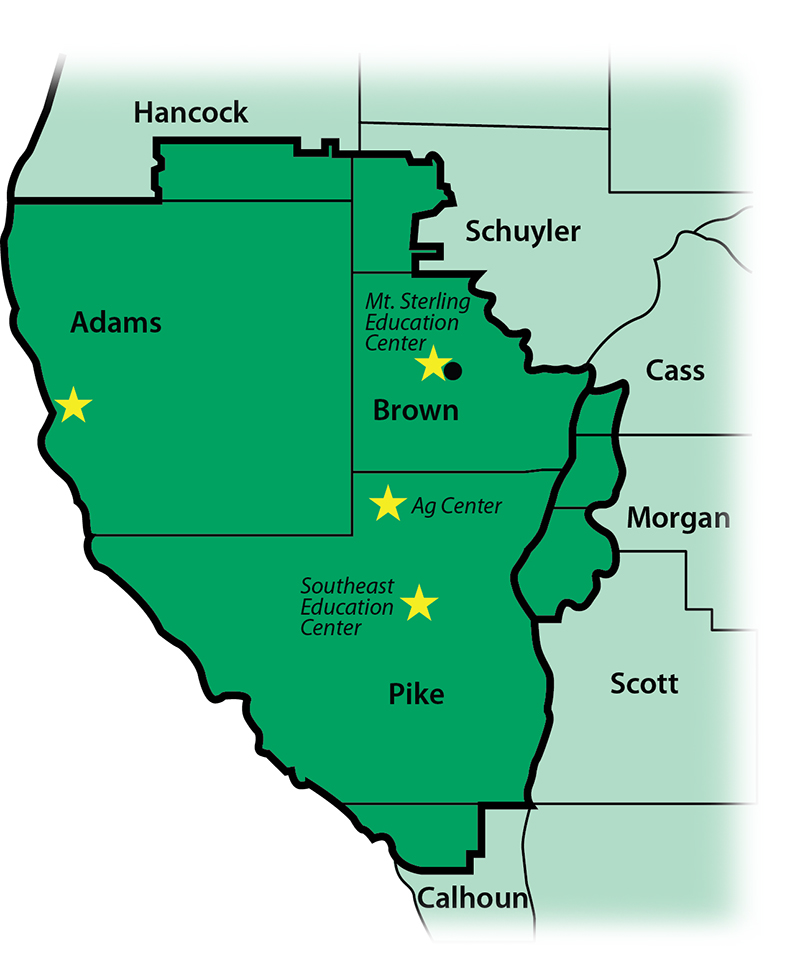 JWCC District Map