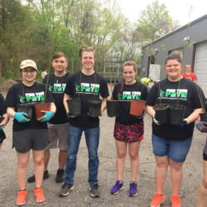 JWCC Cru plants trees on mission trip to New Orleans