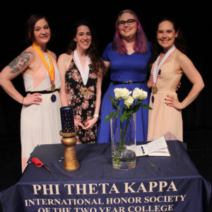 Phi Theta Kappa students recognized