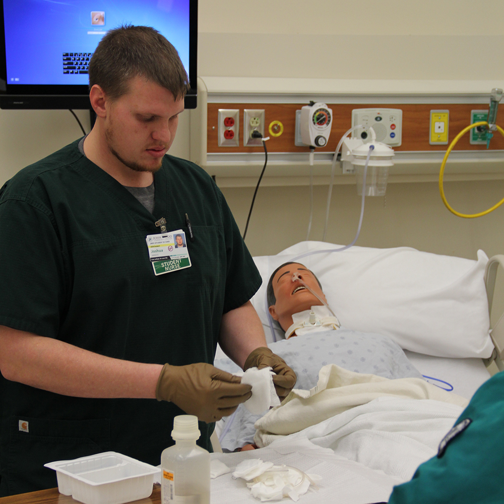 males nursing student