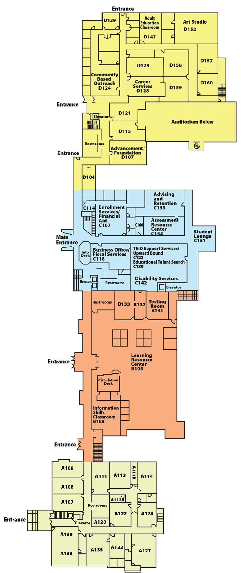 Main Level Quincy Campus