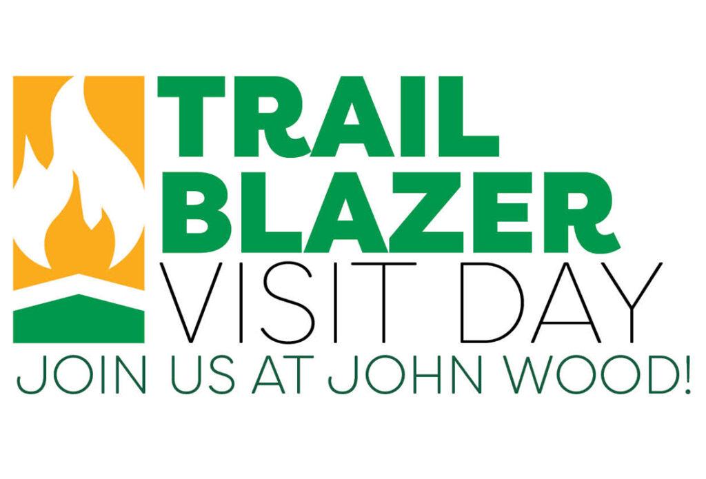 Trail Blazer Visit Day graphic