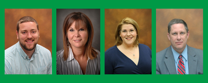 Portraits of JWCC 2020 employees of the year