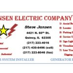 Logo of Jansen Electric Company